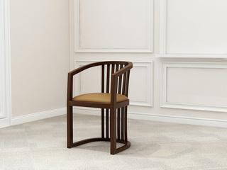 檀宫御品 新中式 黄金檀木 FA1901主人椅