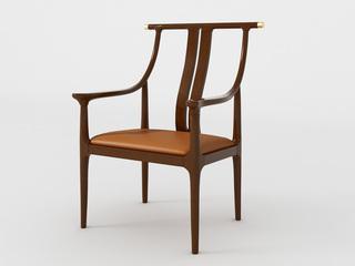 檀宫御品 新中式 黄金檀木 FA1902主人椅