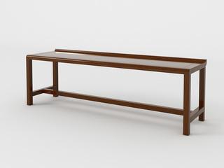新中式 黄金檀木 FA1901长茶凳