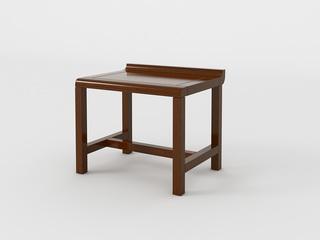 檀宫御品 新中式 黄金檀木 FA1901短茶凳