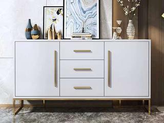 轻奢风格 118 白色 1.2米餐边柜