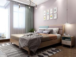 北欧风格 小户型经典时尚 1.2*2.0米床