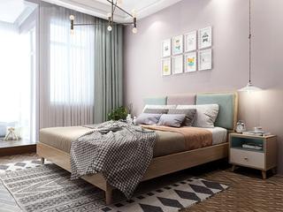 北欧风格 小户型经典时尚 1.8*2.0米床