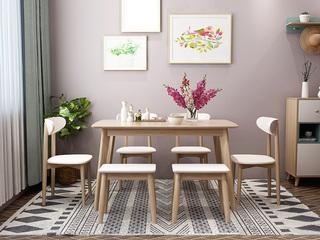 北欧风格 小户型经典时尚 餐桌