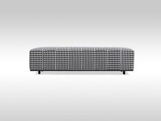 LAMO 意式极简 布艺床尾凳