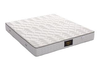 环保乳胶床垫 独立袋装弹簧 正反两用席梦思25CM床垫 1.8*2.0米床垫
