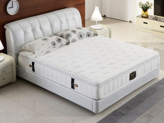 筋斗云记忆棉JDY01床垫 波浪棉床垫 独立袋装弹簧芦荟素面料1.2*2.0米26cm厚床垫