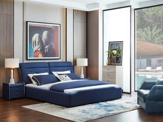 家百利布艺 长期特价1.8米床