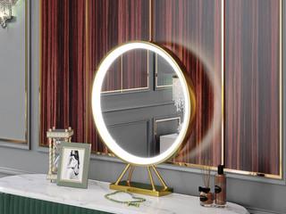 卡伦斯特 轻奢风格 优质铁艺烤漆 加厚玻璃镜 镜子