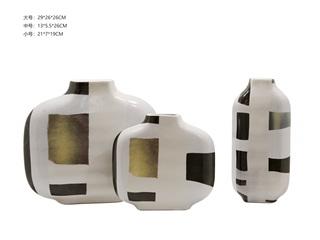 现代简约 HYQS0027A/B/C装饰摆件组合(A+B+C)