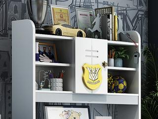 柏莎贝尔 简美风格 优质橡胶木 环保健康 儿童书架