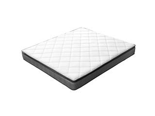 V6家居 慕思集团旗下品牌 竹纤维亲肤面料 360度透气系统 分区凝胶记忆棉 双面睡感1.5m床垫