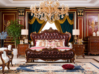 博洛妮亚 法式家具系列1.8米床