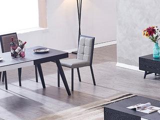 斐亚家居 极简风格 五金脚 舒适柔软靠背 餐椅