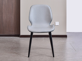 现代简约 纳米科技布面料 灰色 椅子