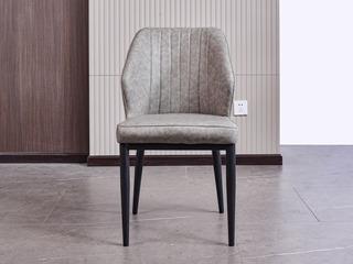 科隆印象 现代简约 纳米科技布面料 浅灰 椅子