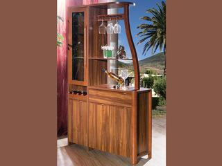 宸轩 中式风格 泰国进口橡胶木 柚木色  间厅柜