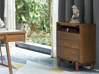 北欧风格 精选白蜡木 优雅木纹 实木臻品 斗柜