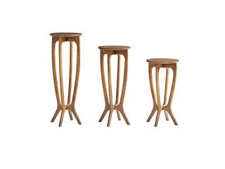 木之忆 北欧风格 精选白蜡木 优雅木纹 精细做工 矮花架