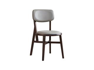 木之忆 现代简约 北美进口白蜡木 皮艺餐椅