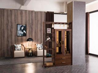源木时光 北欧风格 精品胡桃木 实用间厅柜