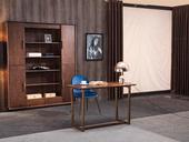 源木时光 北欧风格 精品胡桃木 优雅木纹 原木清香 书桌