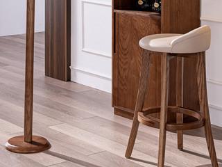 源木时光 北欧风格 北美进口白蜡木 吧凳