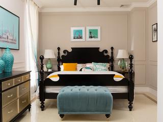 博洛妮亚 哈利波特王子床 进口桃花芯木床1.8米 美式儿童床