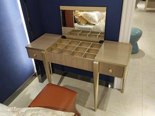 美克世家 简美风格 北美进口榉木坚固框架 妆台
