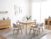 北欧风格2321实木餐桌
