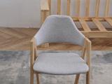 荣之鼎北欧风格2312A字椅