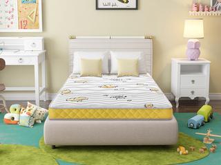 喜临门·酷睡香橙1.5*1.9 邦尼尔弹簧护脊3D椰棕专业儿童15cm床垫