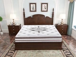 喜临门·酷睡契约1.8*2.0 七区独立袋装弹簧床垫 天然乳胶奢华睡感床垫
