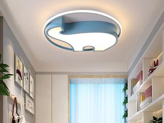 米哈 侧发光系列 吸顶灯 小象500 蓝 36W 白光