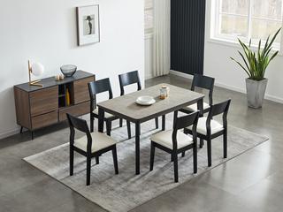 麦考系列 极简餐桌
