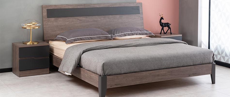 科隆印象 现代简约 卧室床